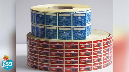 چاپ لیبل قرعه کشی